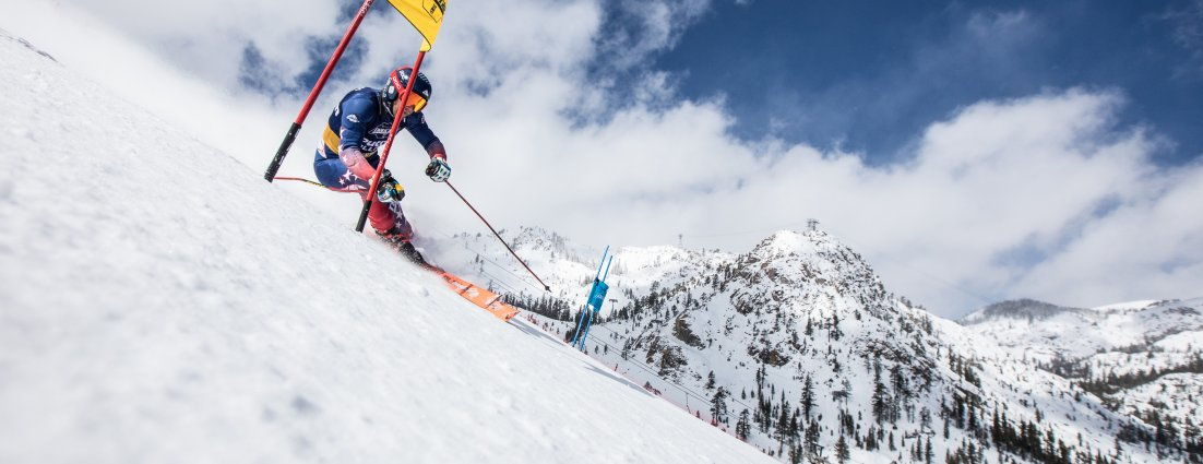 Marco Sullivan at Squaw for NASTAR Nationals